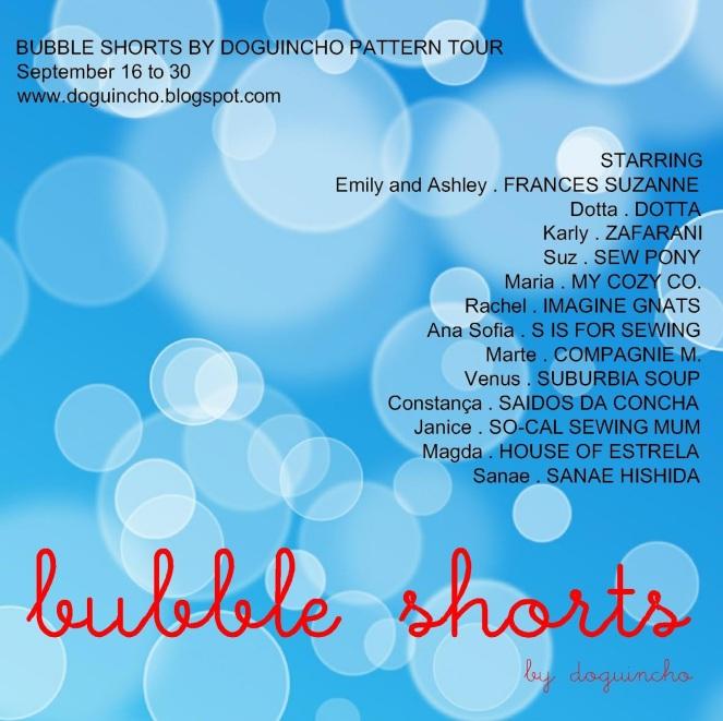 Bubble shorts BLOGTOUR